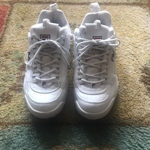 Fila Disruptor Sneakers (chunky white sneakers)